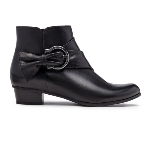 Stefany-293 Leather Ankle Boot