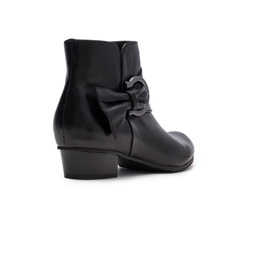 Regarde La Ciel Stefany 103 Women's Leather Cuffed Ankle Bootie Shoe