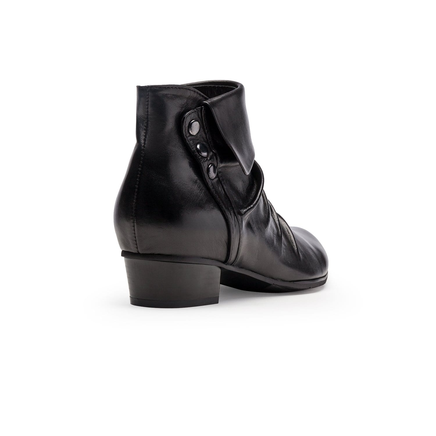 Regarde La Ciel Stefany 278 Women's Leather Cuffed Ankle Bootie Shoe