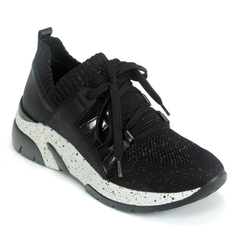 Remonte Lace Up Sneaker (D4106) Women's Speckled Sole | Simons Shoes