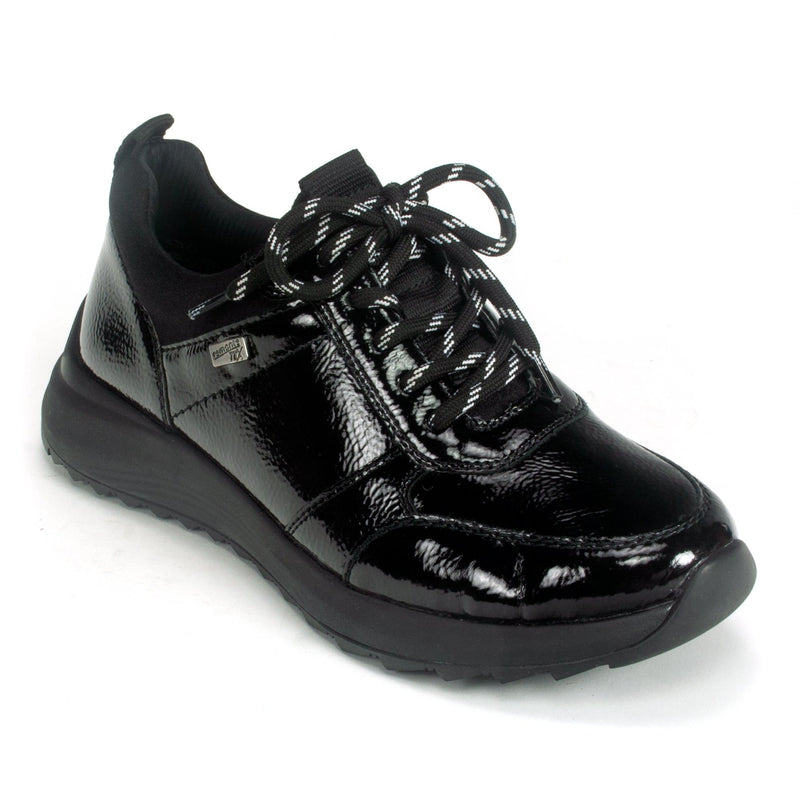 Remonte D5704 Women's Water Resistant Sporty Sneaker 02 Black | Simons Shoes