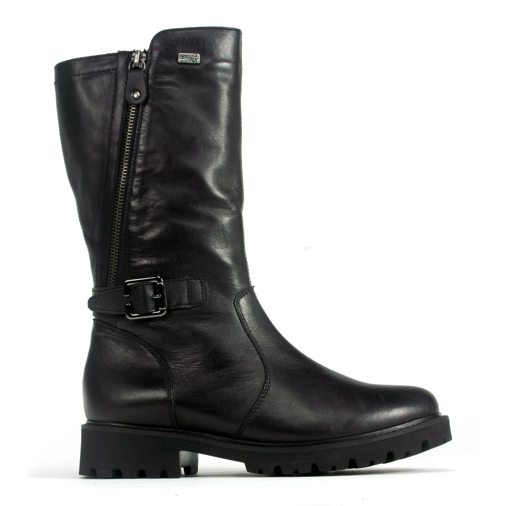 Remonte D8673 Waterproof Boot Women's Leather Mid Zip | Simons Shoes