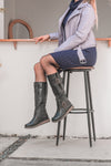Knee High Waterproof Boot (D8886)