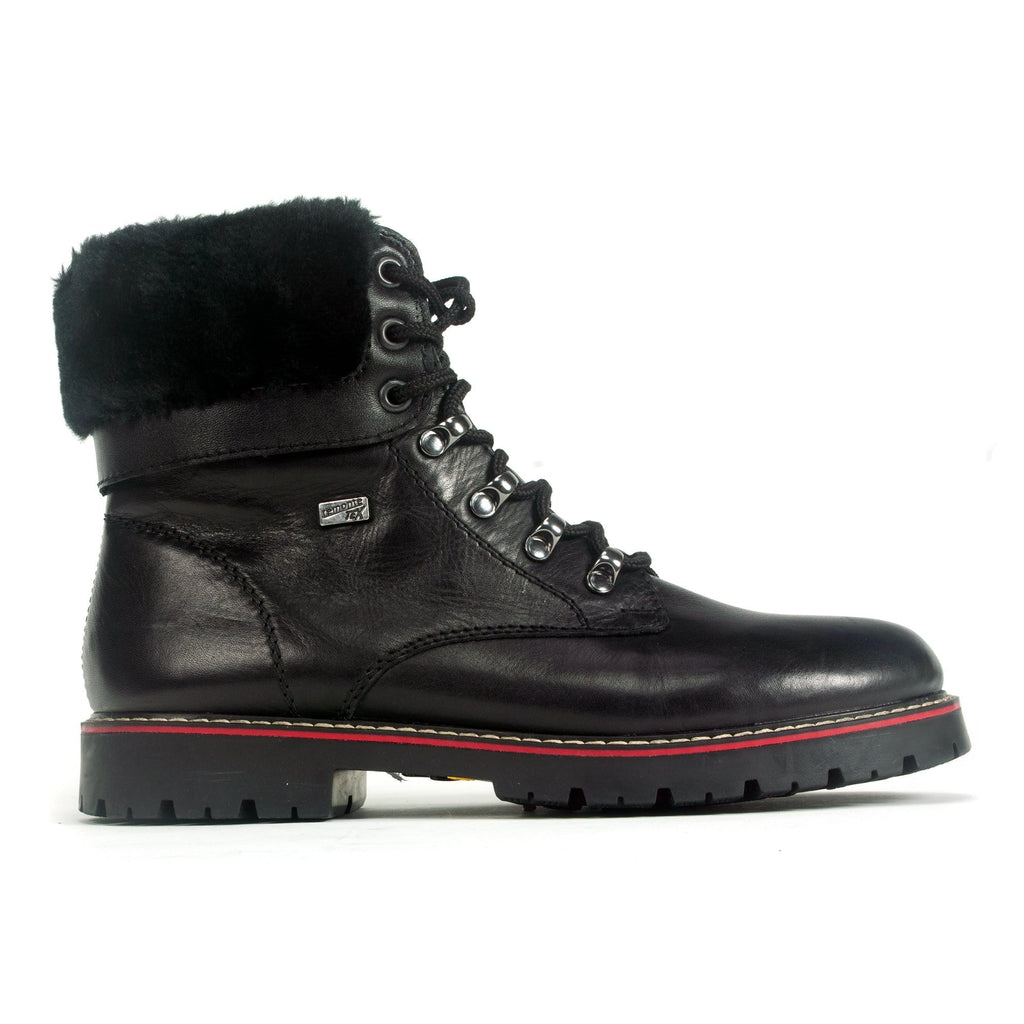 Remonte Repair Boot (D9372) Women's Leather Side Zip Black | Simons Shoes