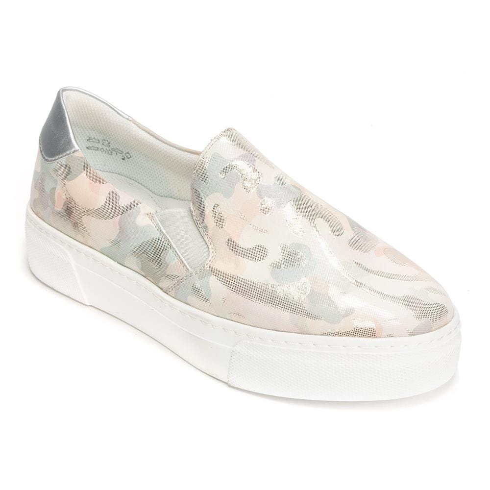 Remonte Pamplona Metallic Leather Slip On Sneaker (R3100) Shoe