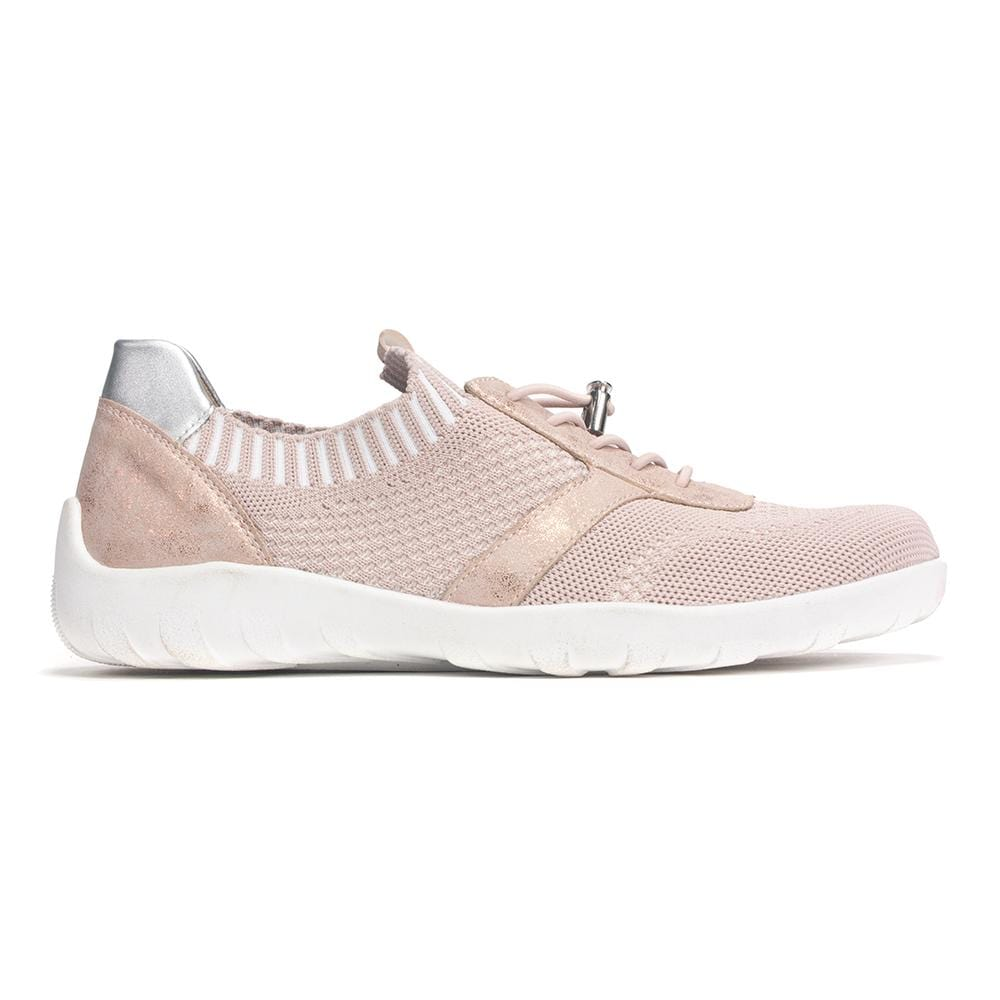 Remonte R3511 Women's Breathable Mesh Drawcord Slip On Sneaker Shoe | Simons Shoes