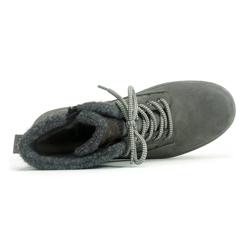 Remonte (R8477) Women's Granite Lace Up Lambs Wool  | Simons Shoes