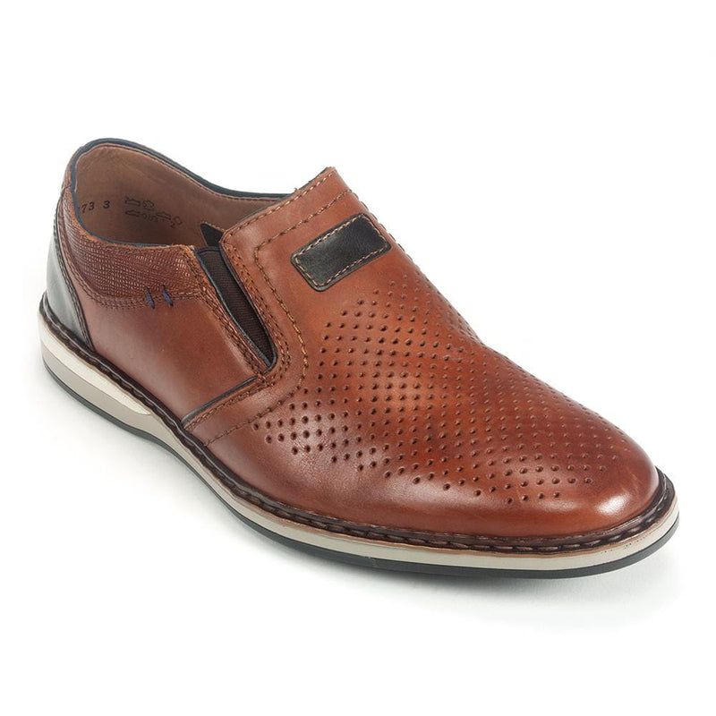 Rieker Leather Slip on Shoe (16860) | Simons Shoes