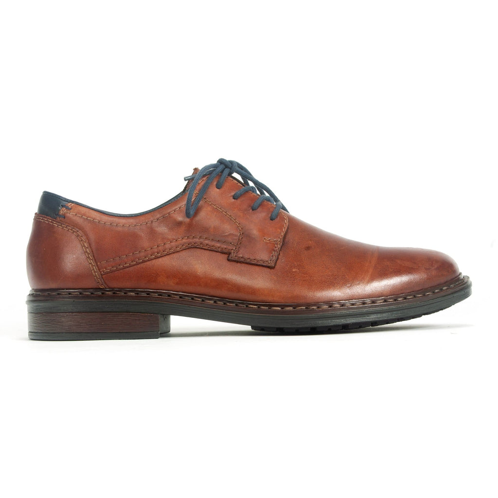 Rieker Lace Up Leather Men's Dress Shoe (17627) | Simons Shoes