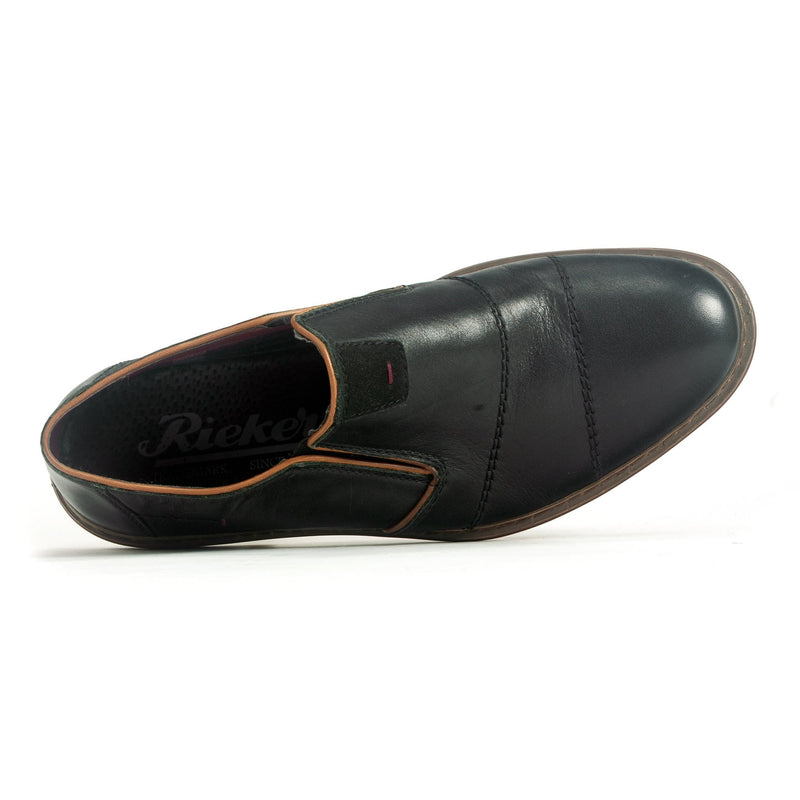 Rieker 17661 Men's Genuine Leather Slip On Wide Fit | Simons Shoes