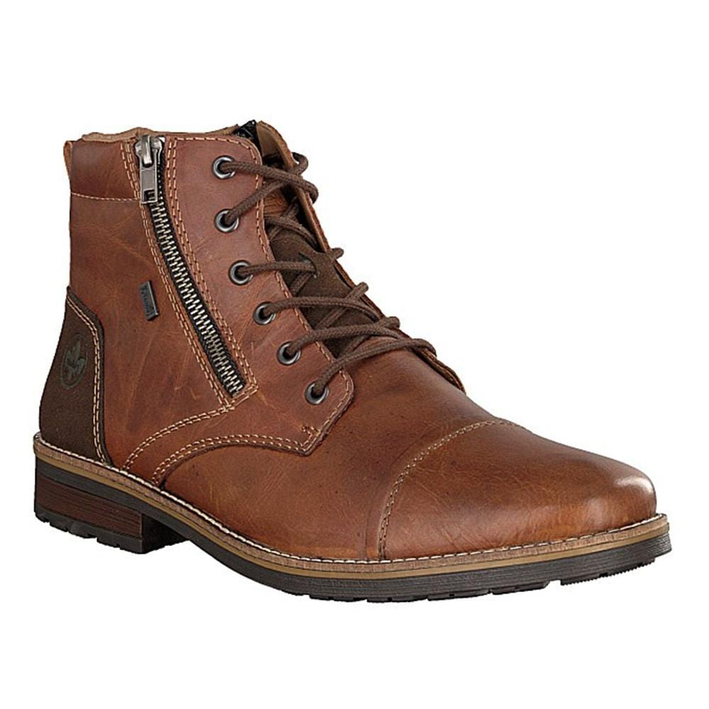 Rieker 33200 Men's Lace Up Boot Lambswool Lined | Simons Shoes