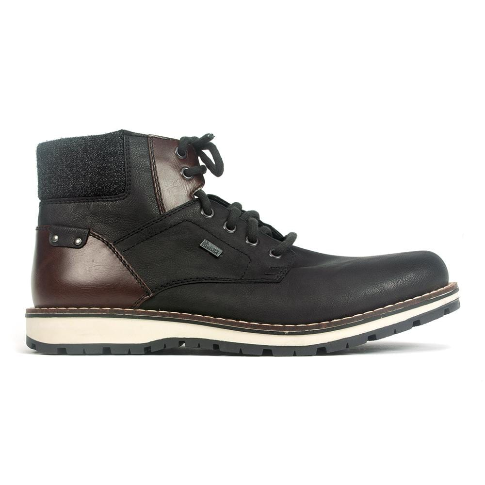 Rieker Warm Lined Short Boot (38434) | Mens Winter Boot | Simons Shoes
