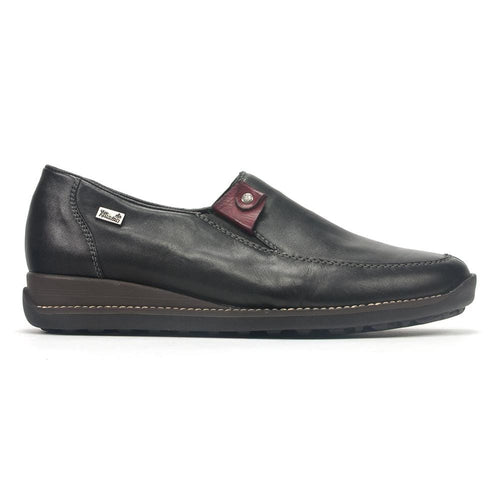 Rieker 44272 | Women's Leather Water-Resistant Slip On Loafer | Simons