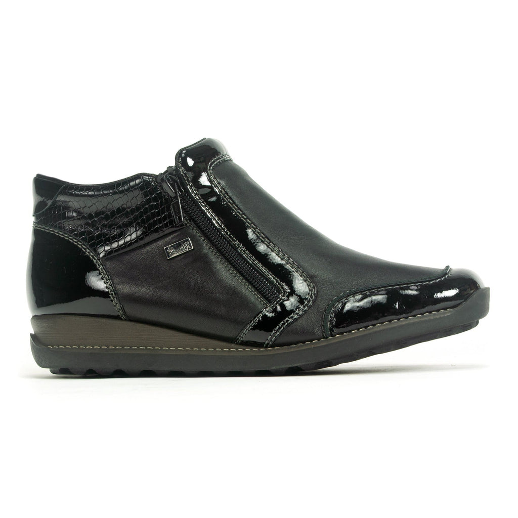 Rieker 44278 | Women's Multi Leather Water Resistant Bootie | Simons