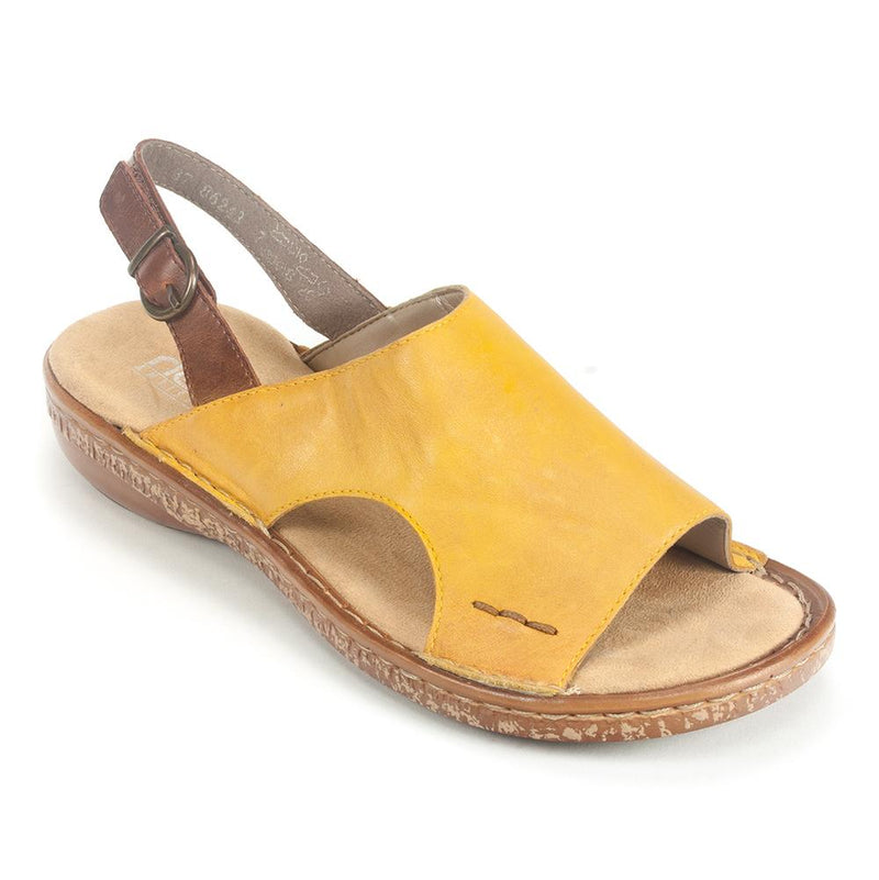 Rieker Leather Slingback Sandal (628C5) | Simons Shoes
