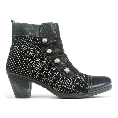 Remonte Printed Bootie (D8792) | Simons Shoes