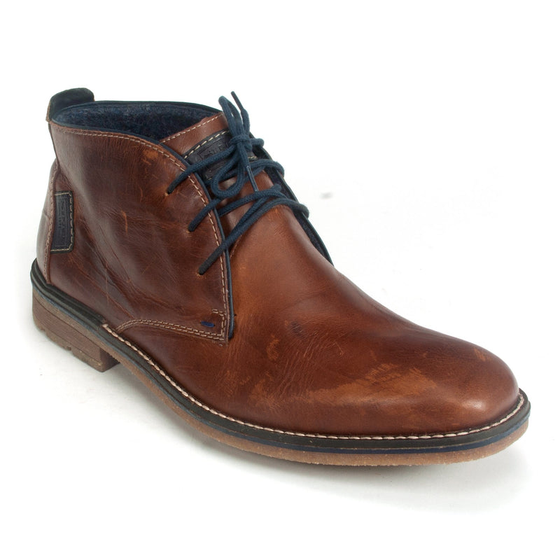 Rieker F1310 Men's Brown Leather Winter Chukka Boot | Simons Shoes