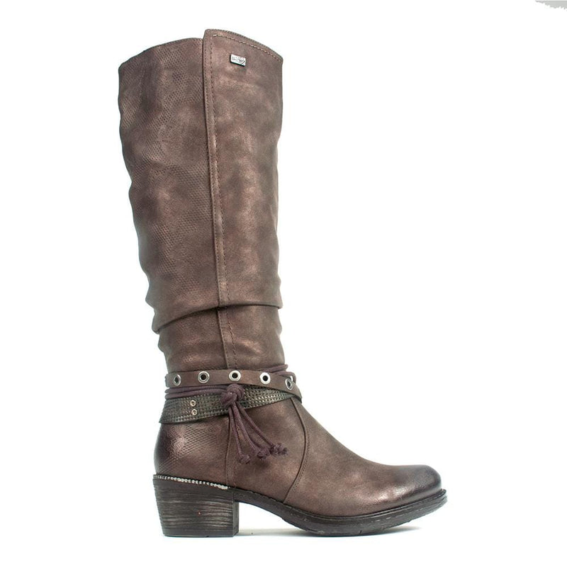 Remonte Women's Comfort Knee High Leather Boots (R1170) | Simons Shoes