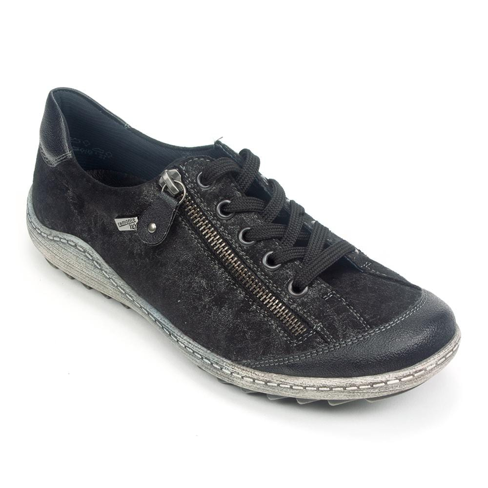 Remonte Metallic Leather Casual Sneaker (R1402) | Simons Shoes