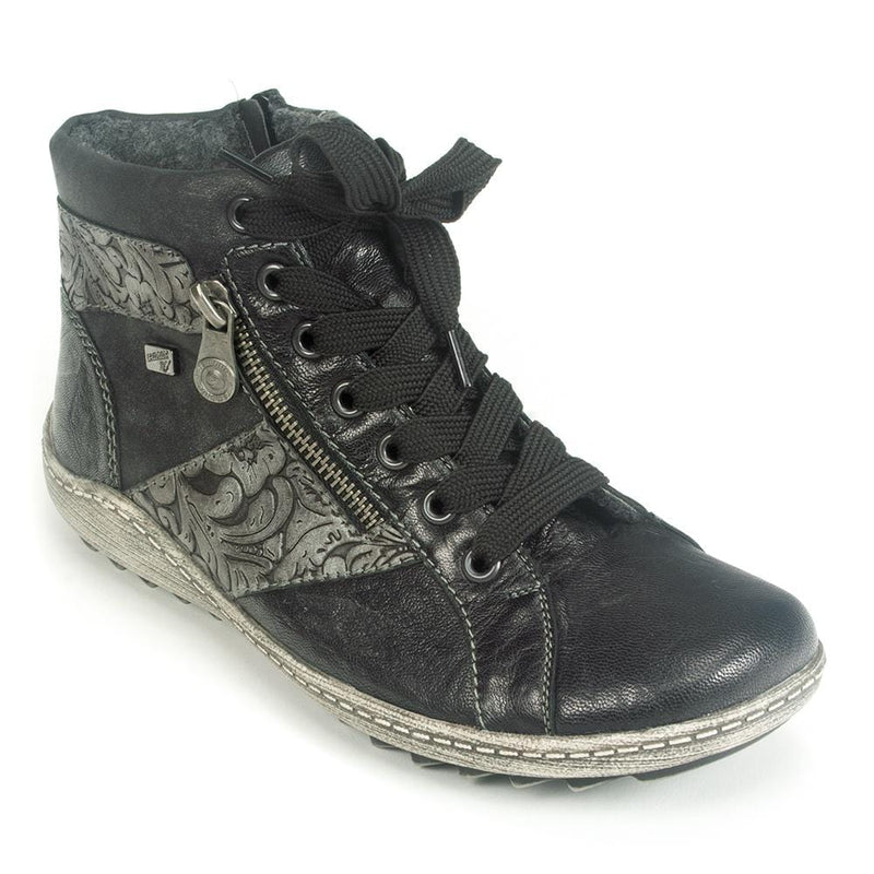 Remonte Women's Leather High Top Sneaker (R1497) | Simons Shoes