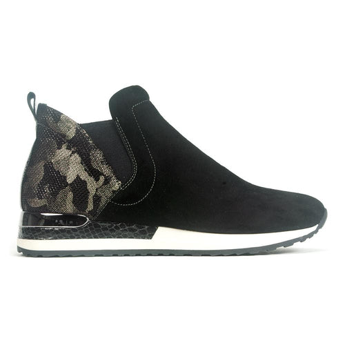 Remonte Suede Snake Skin High Top Sneaker (R2570) | Simons Shoes