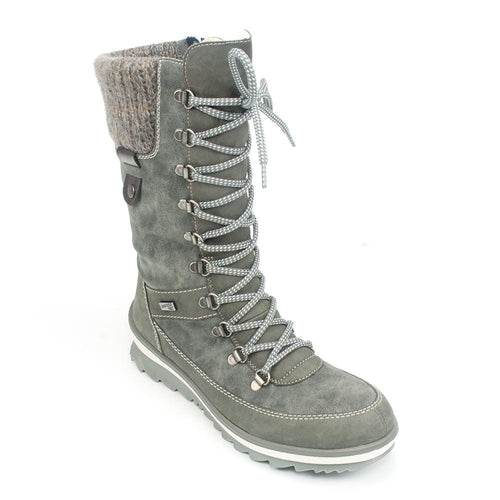 Remonte Waterproof Leather Fleece Lined Boot (R4371) | Simons Shoes