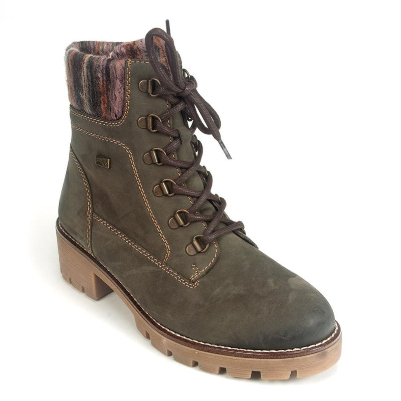 leather lace up hiking boots