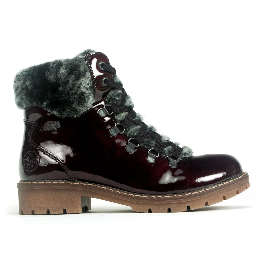 Rieker Chianti Boot (Y9124) Women's High Sheen Warm | Simons Shoes
