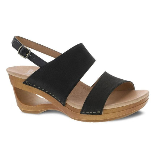 Dansko Tamia Womens Open Toe Leather Slingback Sandal | Simons Shoes