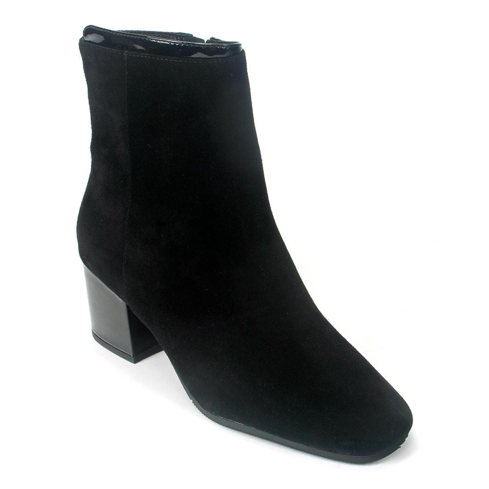 Valdini Helga Women's Waterproof Suede Heeled Boot | Simons Shoes