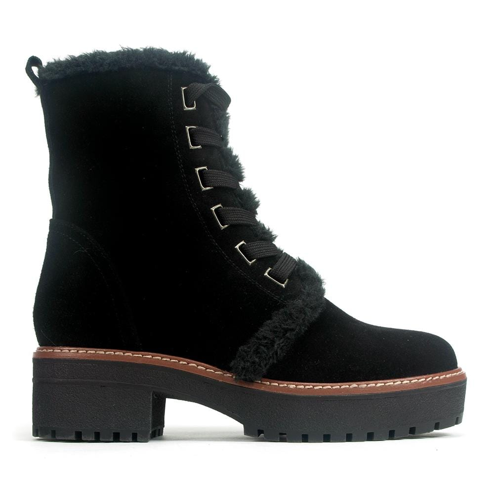 Valdini Kiki | Women's Waterproof Lace Up Suede Boot | Simons Shoes