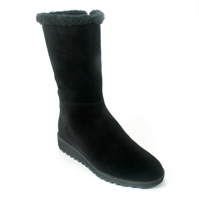 Valdini Sofia Womens Waterproof Leather Lined Demi Boot | Simons Shoes