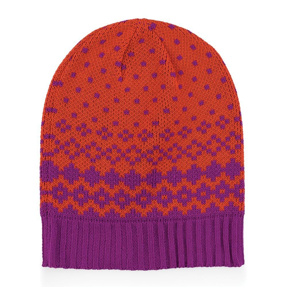 Verloop Fair Isle Hat Women's Slouchy Knit Cap │ Simons Shoes