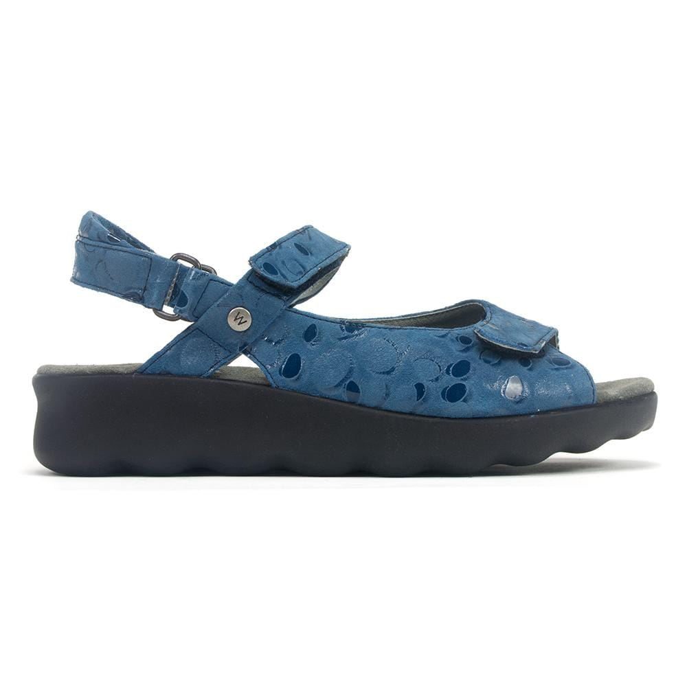 Wolky Pichu 1890 | Women's Leather Memory Foam Sandal | Simons Shoes
