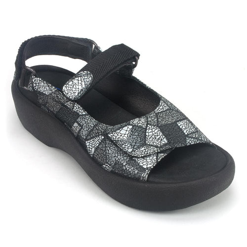 Wolky Jewel 3204 | Women's Leather Strappy Memory Foam Sandal | Simons
