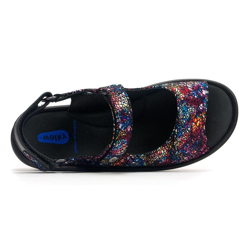 Wolky Rio 3325 | Women's Leather Memory Foam Comfort Sandal | Simons
