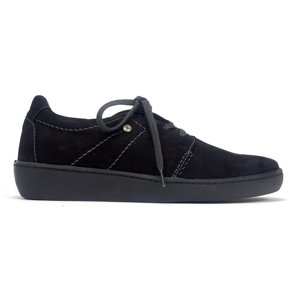 Wolky Artemis Women's Suede Lace Up Sneaker Shoe
