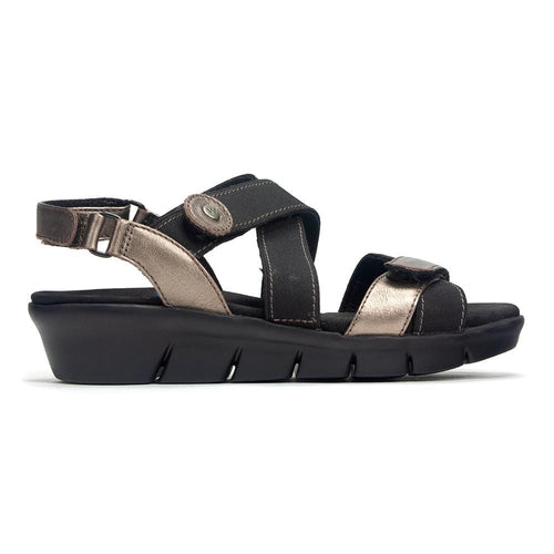 Wolky Electra 0677 | Women's Leather Strappy Travel Sandal | Simons