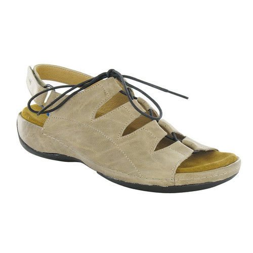Wolky Kite 0310 | Women's Leather Memory Foam Ghillie Sandal | Simons