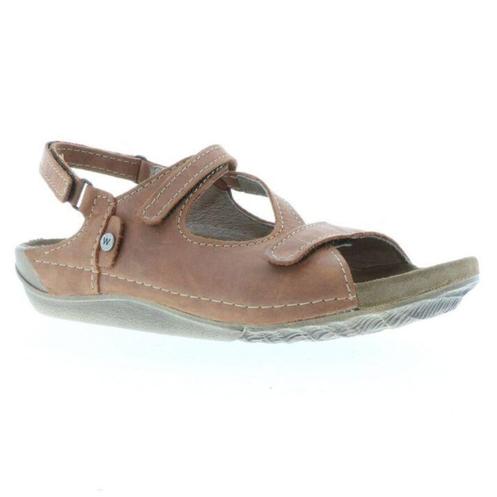 Wolky Leif 0531 | Women's Leather Adjustable Strappy Sandal | Simons