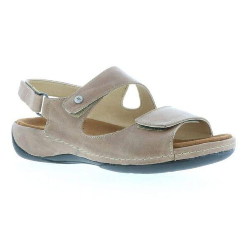 Wolky Liana 0315 | Women's Leather Three-Strap Comfort Sandal | Simons