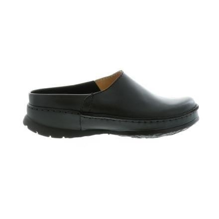 Wolky Sharav Men's Leather Mule | Casual Slip On Shoe 50-000 Black | Simons Shoes