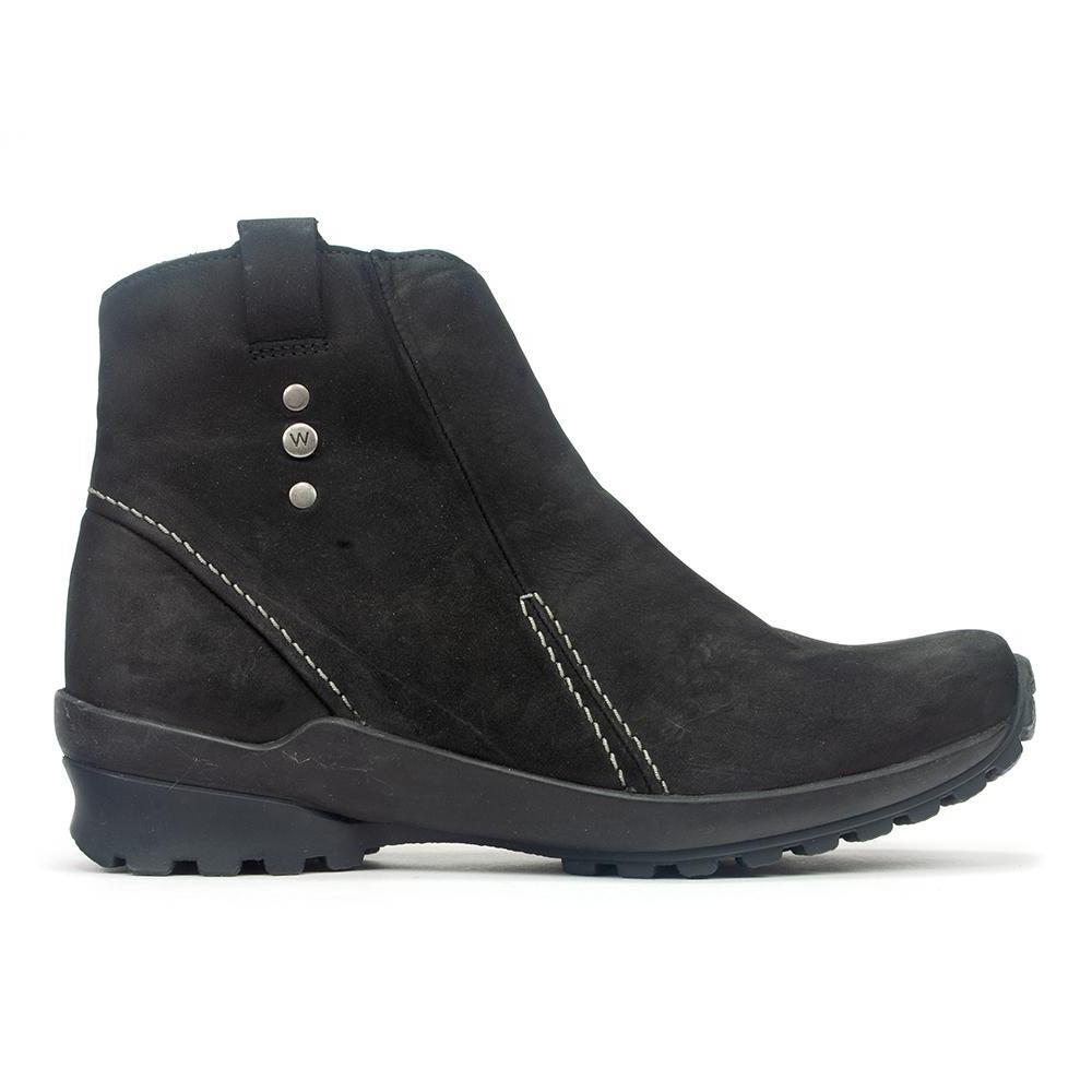 Wolky Zion | Women's Leather Waterproof Bootie (1735) | Simons Shoes
