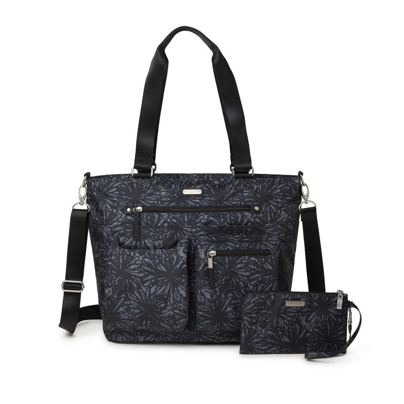 Baggallini Any Day Tote (ADT336) | Women's Nylon Chic Crossbody Purse