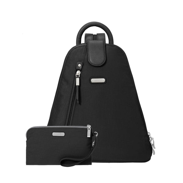 Baggallini Nylon Backpack Metro Slingback Mbp283