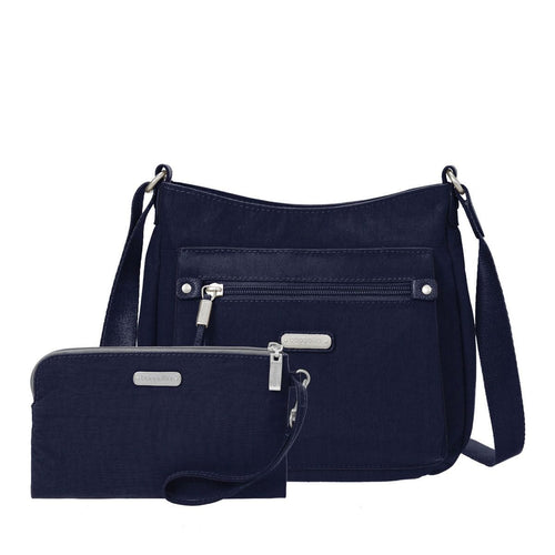 Baggallini Travel Convertible Purse | Uptown Nylon Bag (UPB287