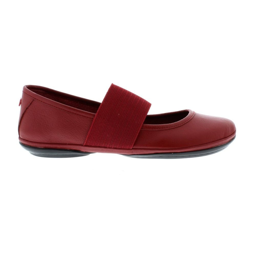 Camper Right (21595) | Leather Ballerina Mary Jane Flat | Simons Shoes