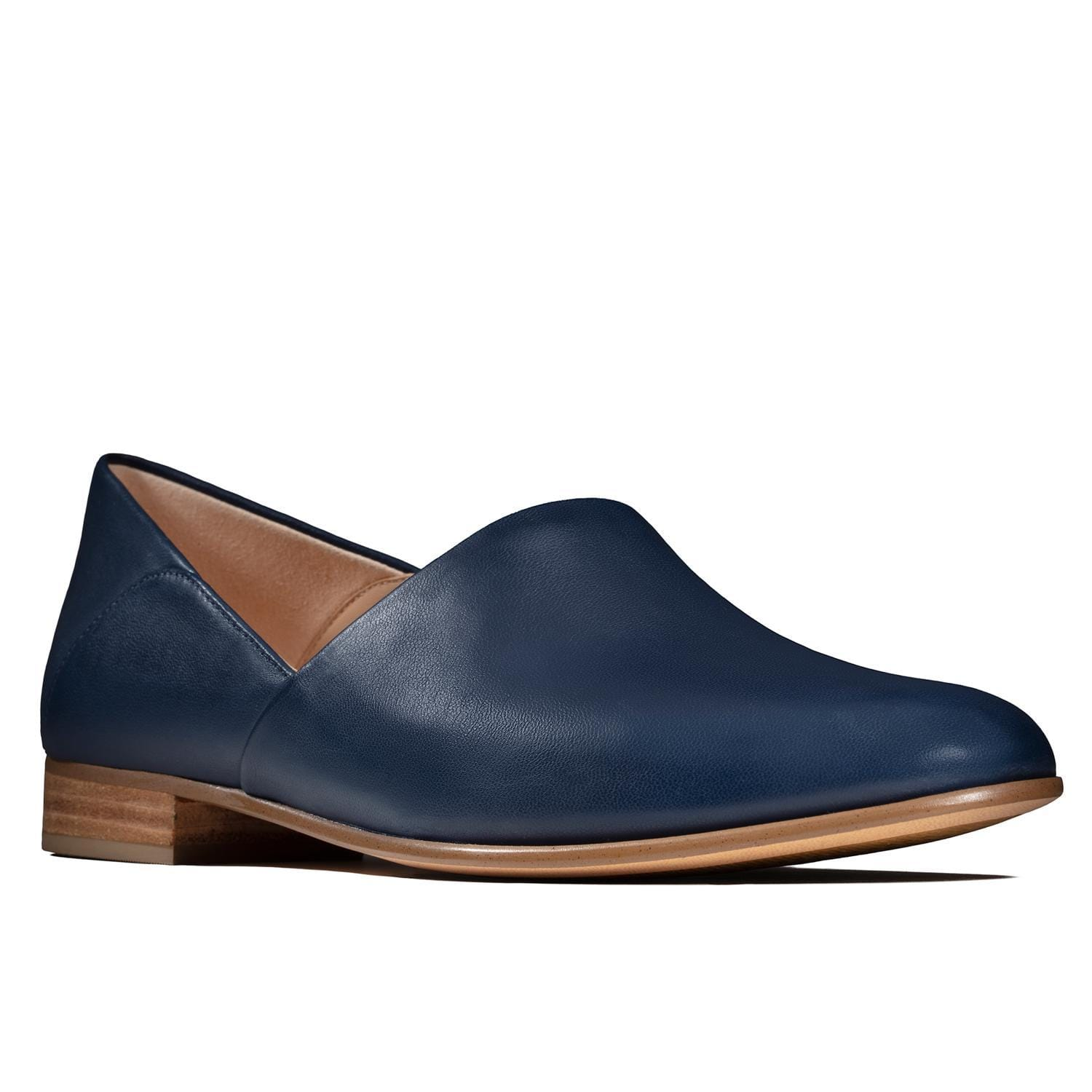 Clarks Pure Tone Loafer | Women's Leather Slip On Shoe | Simons Shoes