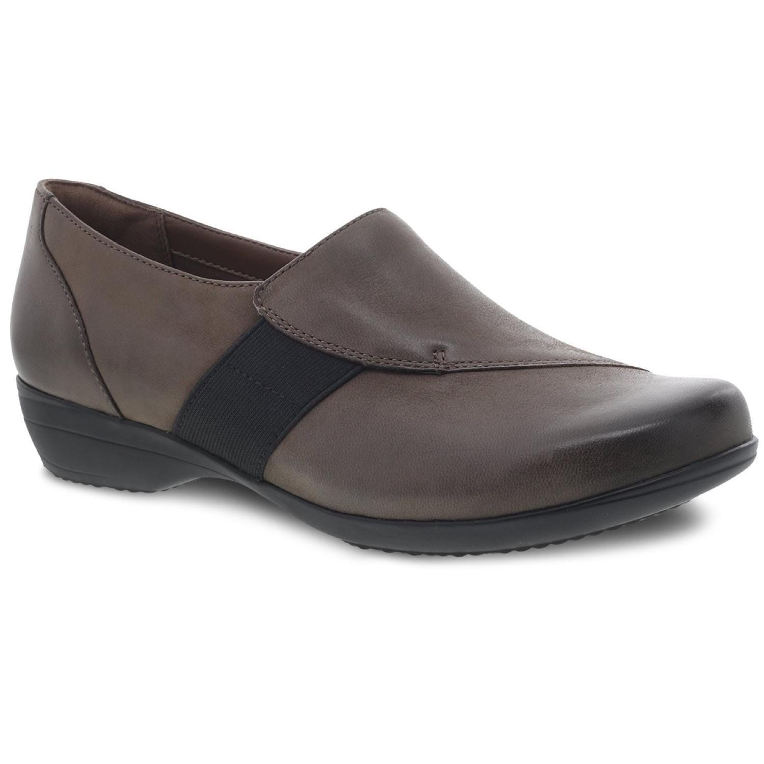 Dansko Women's Fae | Supportive Slip On Leather Loafer | Simons Shoes