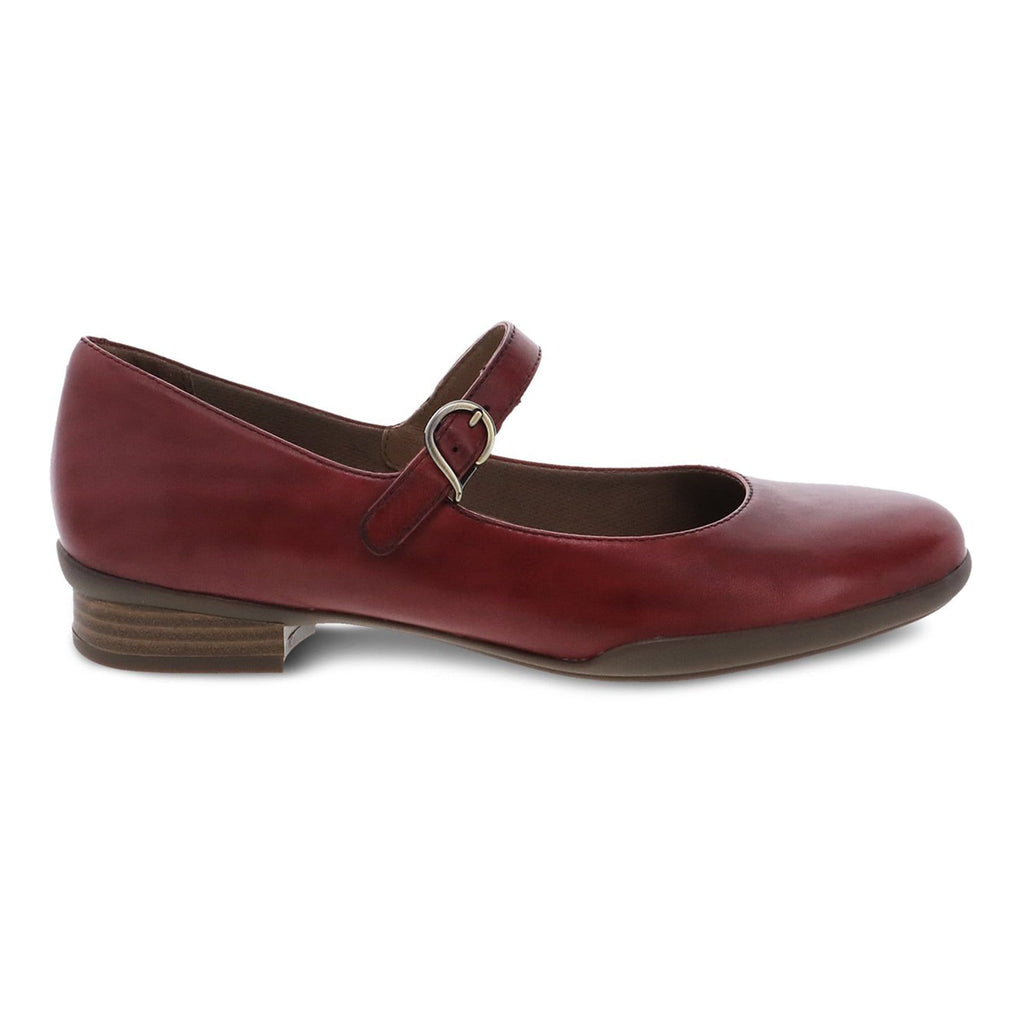 Dansko Kaelyn Women's Leather Mary Jane Cabernet | Simons Shoes